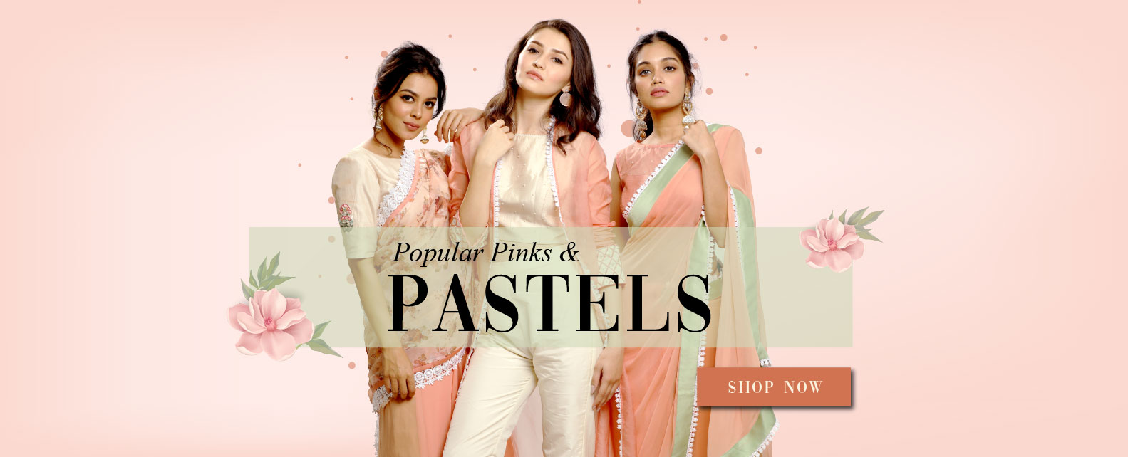 Popular Pinks and Pastels